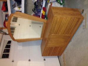 7 drawer Dressing table with mirror