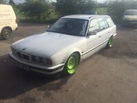 Bmw 525tds manual e34 drift retro