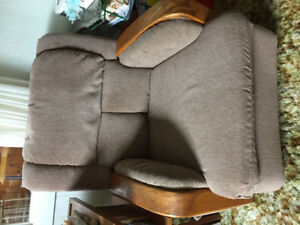 Big comfy couch and matching comfy chair