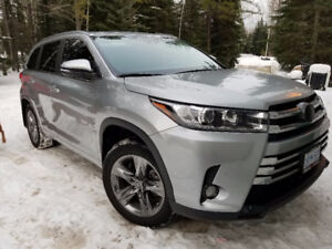 2017 Toyota Highlander Limited SUV, Crossover