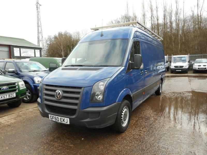 2010 Volkswagen Crafter Cr35 Blue 109 Tdi Lwb High Roof
