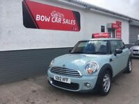 2012 MINI ONE AVENUE 1.6L