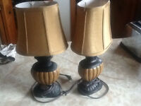 """Table lamps 18"""""""