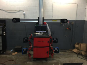 Used CCD Wheel Aligner $4500 & 3D Wheel Alignment Machine $8000