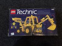 Vintage Lego Technic 8862 - Back Hoe Grader.