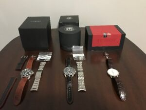 Men's Watches (Christopher Ward, Citizen, Panzera and Tissot)