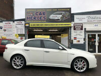 2010 ALFA ROMEO 159 2.0 JTDM LUSSO TI 16v ( 170bhp ) ( AA ) WARRANTED INCLUDED