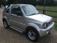 Suzuki Jimny JLX Soft Top ONLY 50K!+RAC WARRANTY! PETROL MANUAL 2002/02
