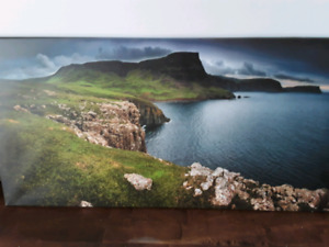"""18"""" x 30"""" Droneography Photo Prints on Canvas"""