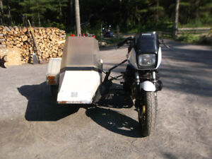 Cool sidecar rig for sale