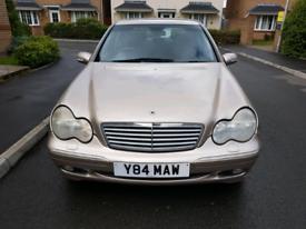 Mercedes Benz c class, automatic 1year mot tidy, £1000 ono