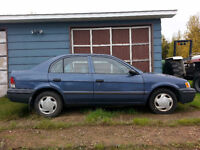 Reduced! 1999 Toyota Tercel Sedan