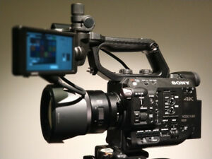 Sony FS5 mint condition low hours with RAW upgrade