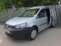 VW CADDY C20 TDI MAXI LWB 102 BHP TWIN SIDE DOORS