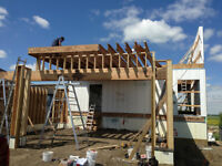 DECKS / GARAGES / and other small construction jobs
