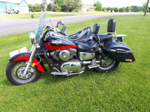 Trade 2004 1500cc vulcan with or without a sidecar for a camper