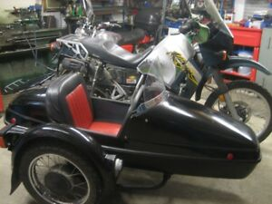 klr sidecar outfit for sale (new price )