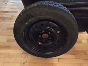 Goodyear Nordic Winter and Rims