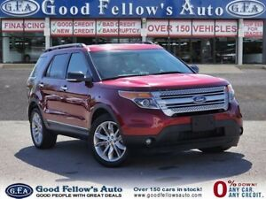 2014 Ford Explorer XLT MODEL, 4WD, 7 PASSENGER, LEATHER SEATS, N