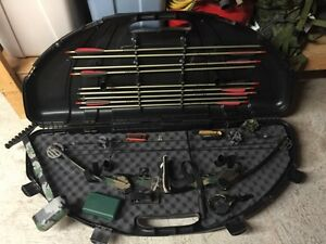 PSE Compound Bow, fully loaded