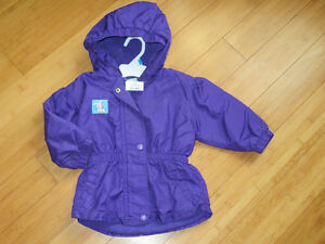 "Girls ""Sears"" Purple Jacket - Size 24 Mths"