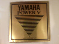 YAMAHA POWER V DRUMS with CYMBALS & HARDCASES