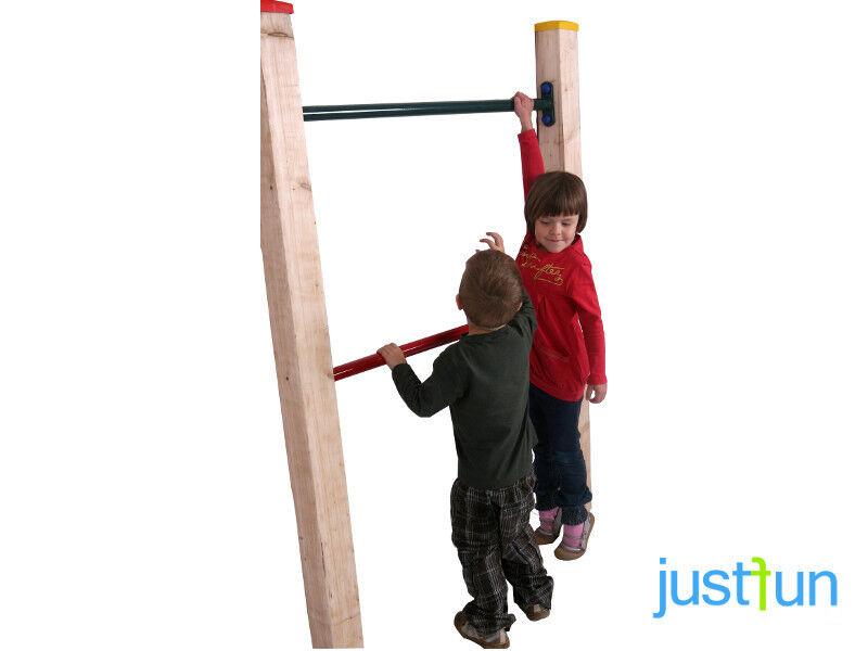 Reckstange 90 / 125 cm Turnstange für Turnreck Kletterstange Spielturm Garten