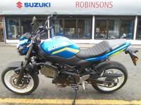 Pre Reg Suzuki SV650in MotoGP colours by Dream Machine.