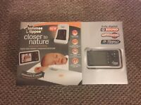 Tommee Tippee closer to nature video monitor and sensor pad