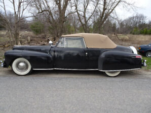 Price Dropped on my 1947 Classic Lincoln Continental