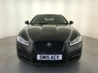 2015 JAGUAR XF R-SPORT BLACK D AUTOMATIC DIESEL ESTATE 1 OWNER SERVICE HISTORY