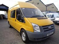 Ford Transit 100T350 LWB HIGH ROOF 9 SEATER CREW VAN