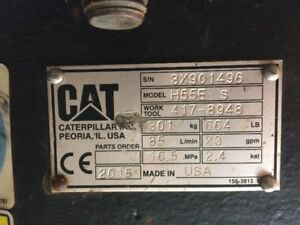 CAT H55E S Hydraulic Hammer for sale