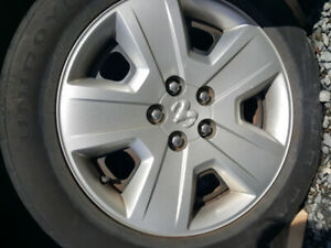 3 Dodge hubcaps