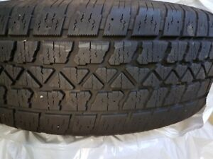 4 Artic claw snow tires on steel rims