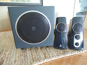 Logitech Z523 Speaker System with Subwoofer