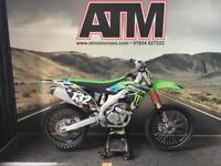 KAWASAKI KXF250 2013 MOTOCROSS BIKE, MONSTER DECALS, TIDY BIKE (ATMOTOCROSS)