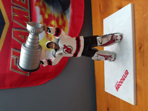 Large Martin Brodeur figure with Stanley cup