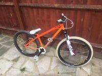 Specialised p1 jump bike orange trials bmx race bombers hope