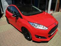 2015 FORD FIESTA 1.0 EcoBoost 140 Zetec S Red 3dr