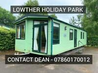 Static caravan holiday home for sale Lake district Penrith Cumbria Cheap fees
