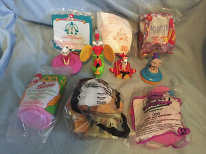 Hundreds of loose and in-package McDonalds toys