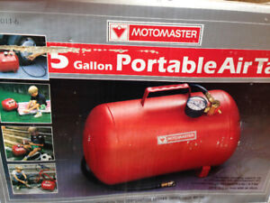 Motomaster 5 Gallon Portable Air Tank $35