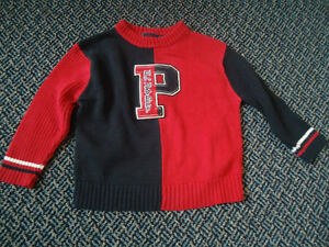 Boys Size 3 Knit Long Sleeve Sweater By ****Polo****