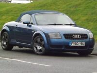Audi TT ROADSTER 1.8 T 150PS (blue) 2003