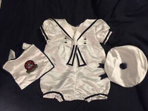 Sailor/infants Halloween costume! Adorable! 12-18mons
