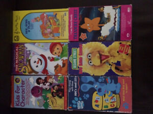 Kids collectables vhs videos