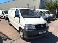 2008 08 TOYOTA HI ACE 2.5 D4D 95 LWB MODEL SUPERB ONE OWNER NO VAT NEW MOT