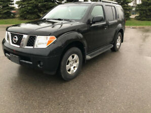 2007 Nissan Pathfinder 4wd 7seat MINT!!CLEAN CARPROOF!NEED GONE!