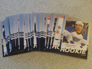 LOT DE 52 CARTES DE HOCKEY DE ROOKIE U.DECK VICTORY 2008-09
